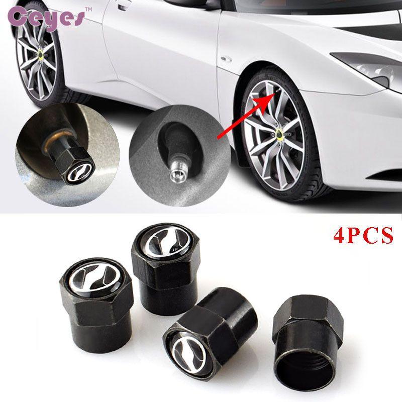 Accesorios del coche llantas del neumático de la rueda tapas de aire del tallo del neumático para Toyota VOXY corolla avensis camry auris válvulas del neumático del coche car styling 4 unids / lote