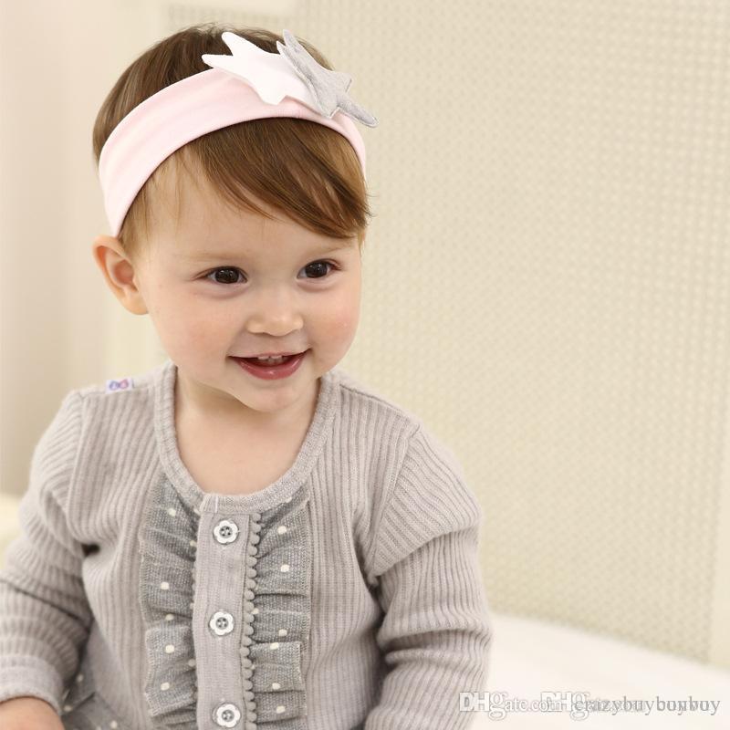 Baby Cotton Headbands Korea Style Star Hairbands Elastic Hairbands For  Girls Children Headwear Hair Accessories KHA643 Ribbon Hair Accessories  Pretty Baby ... 5e2afca0930