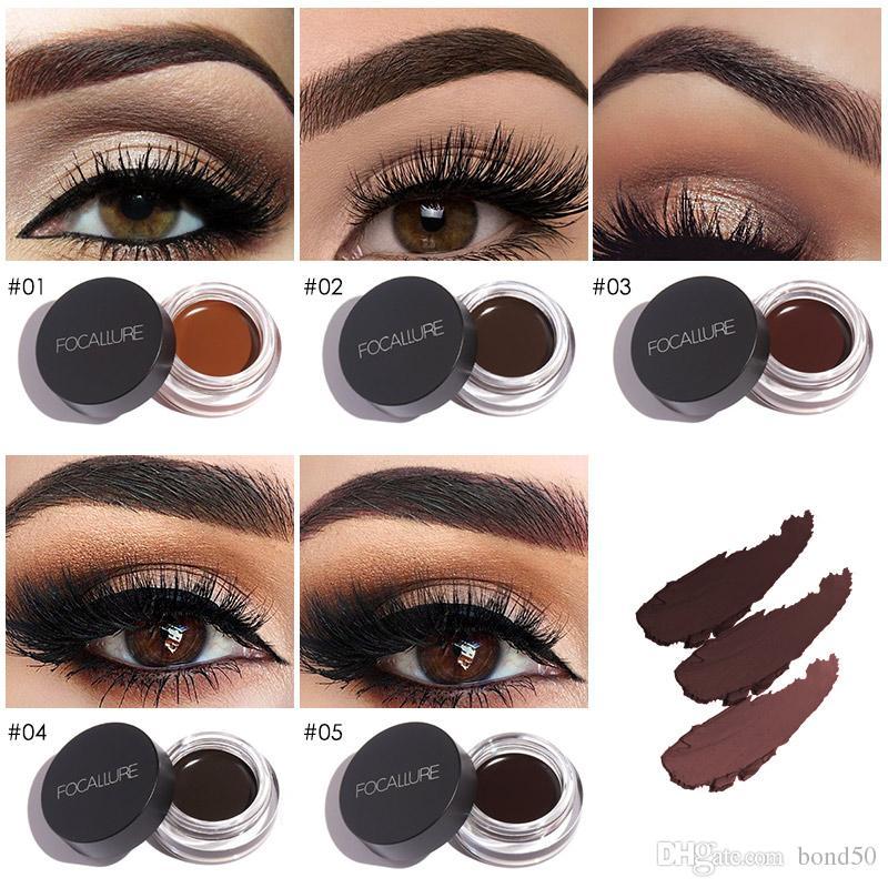 Focallure Henna Eyebrow Gel Professional Eye Brow Tint Makeup Tool