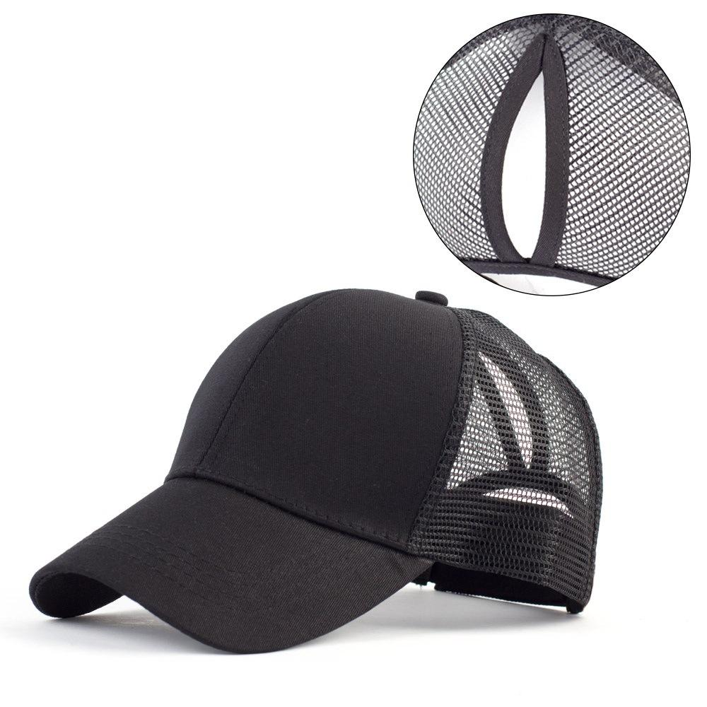 5c5962ef27221 Ponytail Baseball Cap Women Messy Bun Baseball Hat Snapback Sun Sport Caps  New Vintage Baseball Caps Cap Shop From Hiramee