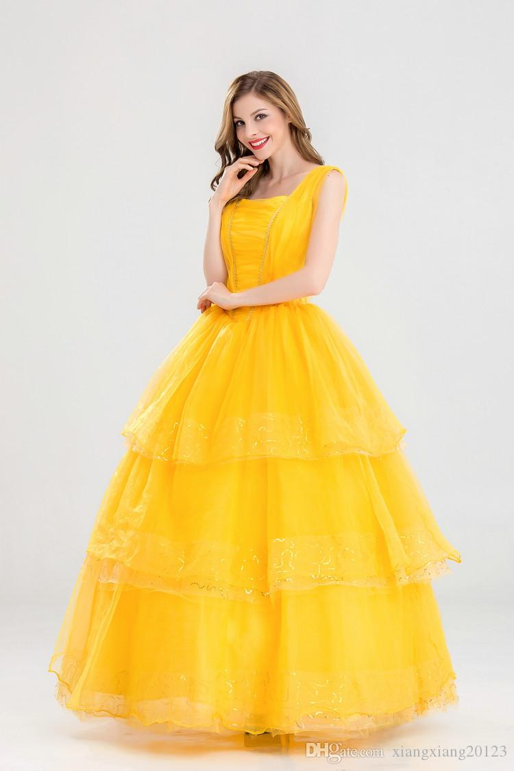 european and american cosplay theme new bell princess dress beauty