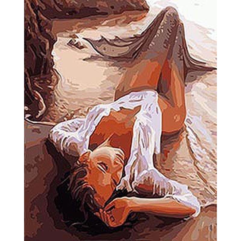 Figure Painting Sexy Women Diy Painting By Numbers Kits