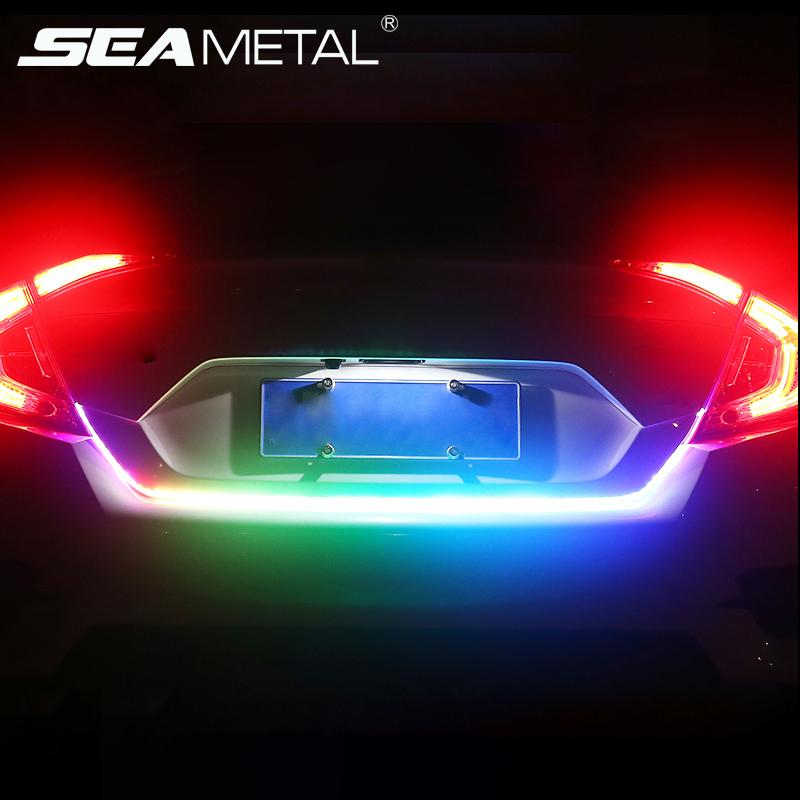 Compre car styling led trunk light strip 120cm colorido universal ver imagen ms grande aloadofball Choice Image