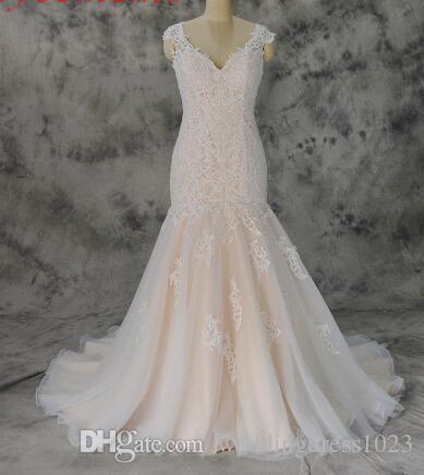 compre vestido de noiva vestido de boda de encaje de marfil y