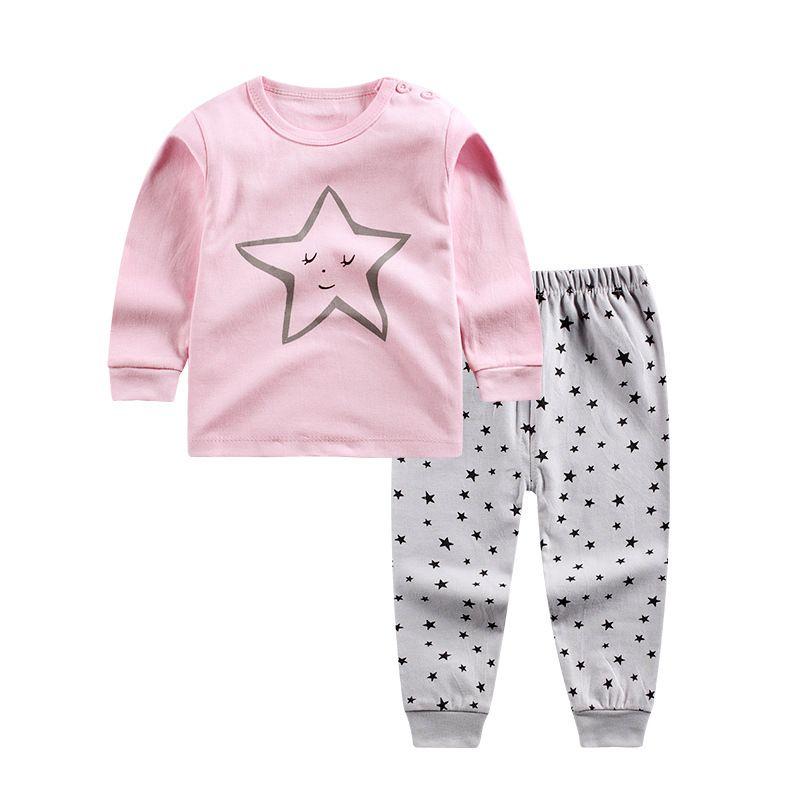 0 4 Years Kids Long Johns Children Home Suits Basic Underwears Girls Pajama  Suit Boys Sleep Sets Cotton Sleepwear Sale Flannel Pajamas For Kids Pajama  Girl ... 5e97c1231