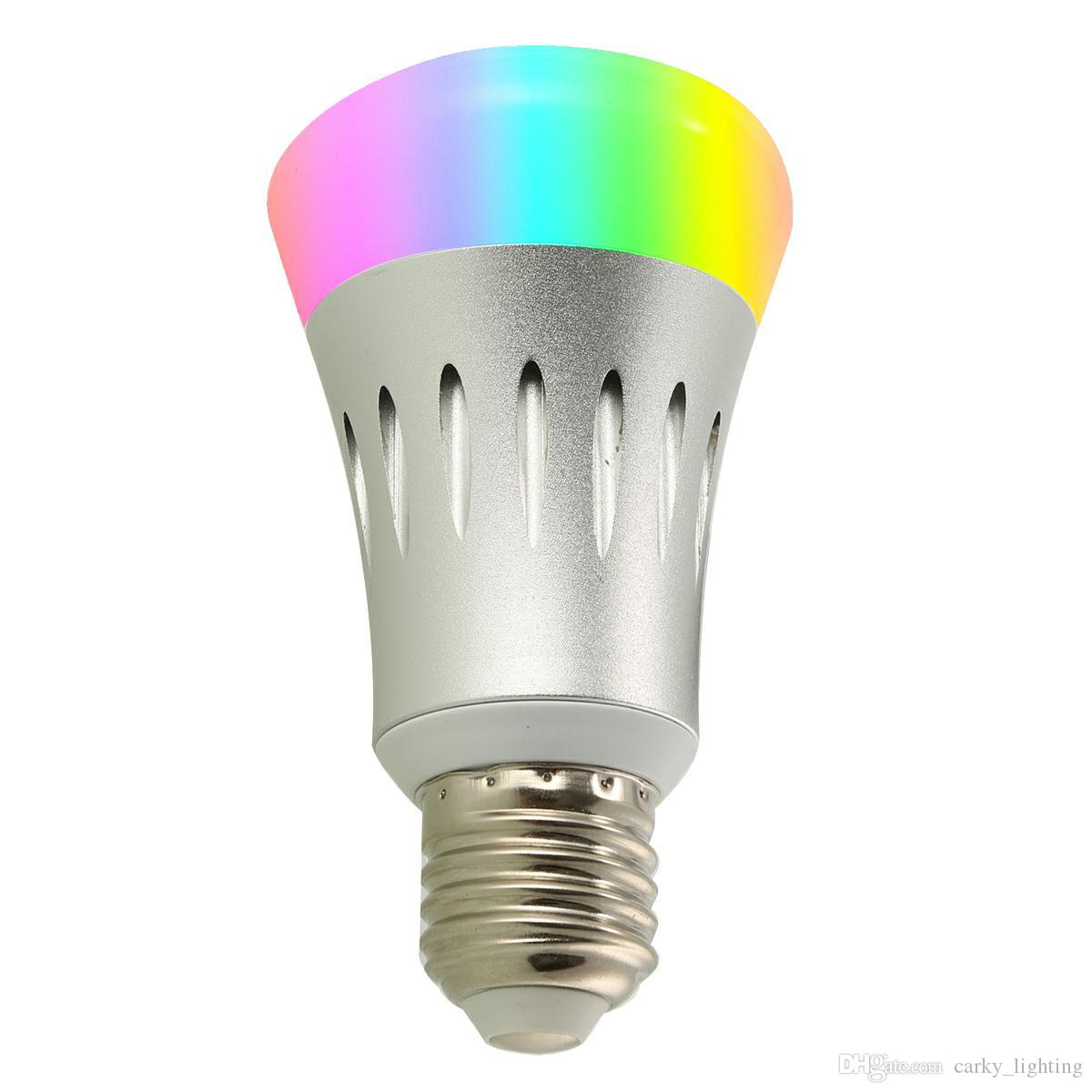 7W Smart WIFI Light Bulb,Works with Alexa,Multicolored LED Bulbs,LED Light  Bulbs Dimmable,Smartphone Controlled Daylight & Night Light