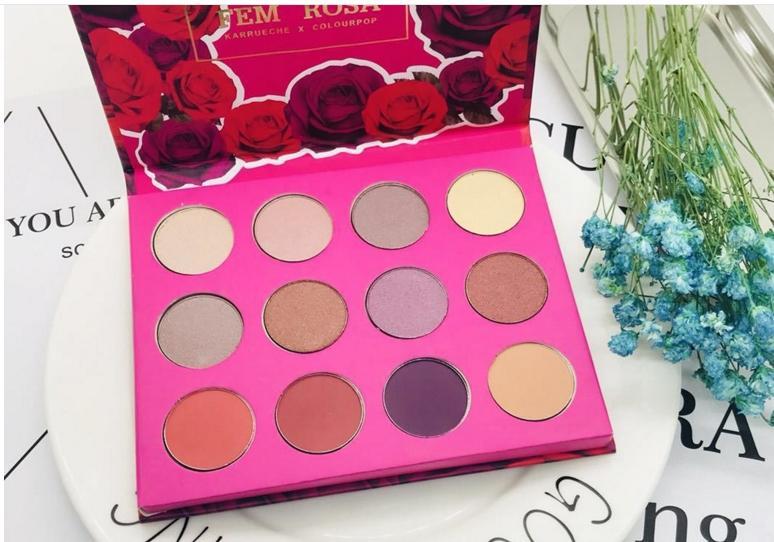 New Colourpop Fem Rosa Set Eye Shadow How To Apply Eye Makeup How To