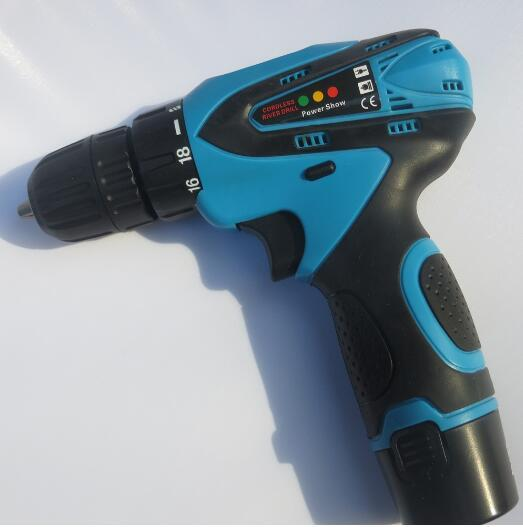 Brand New 12V Double Speed Electric Drill With Lithium Battery Cordless Electric Screwdriver Rechargeable Power Tools