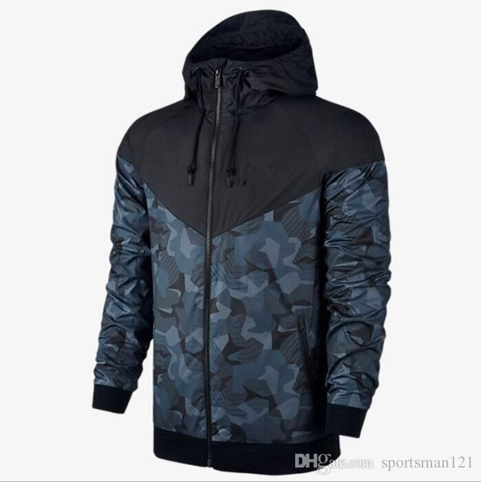 0bf82a1ec68 2019 2018 Men S Sports Jackets Coat Autumn Sweatshirt Hoodie Camouflage  Windproof Long Sleeve Brand Designer Hoodies Zipper Mens Clothing Hooded  From ...