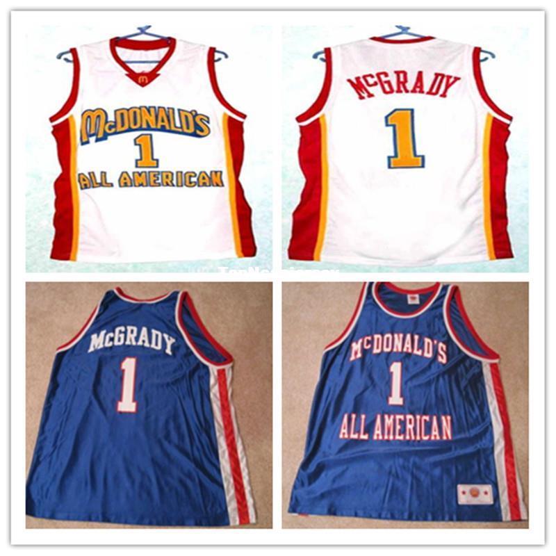 059b4fdb 2019 Cheap TRACY McGRADY #1 Dolphins McDonald ALL AMERICAN High Quality Basketball  Jersey #5 BARON DAVIS Retro Top Cheap Menswear From Topncaajersey, ...