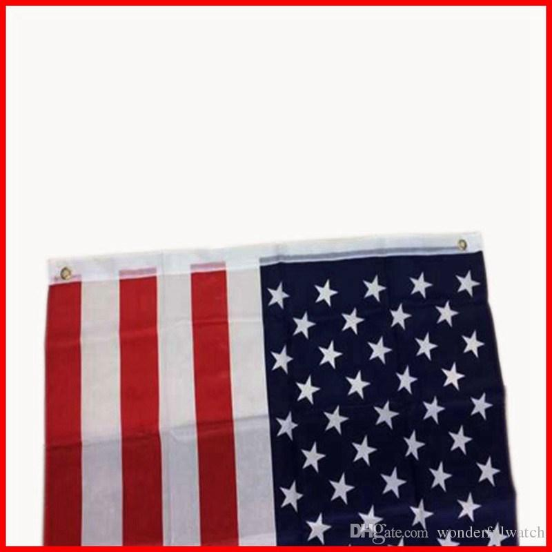 90x150cm American Flag Polyester US Flag USA Banner National Pennants Flag of United States 3x5 ft H218