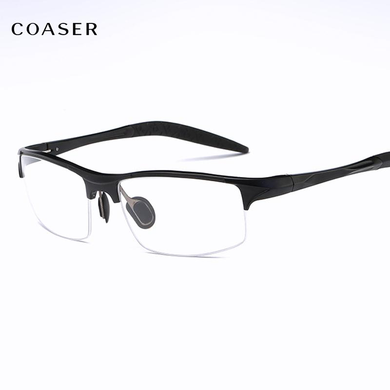 c370baa31a0 COASER Good SPORT Men Glasses Frame TR90 Lighter Reading ...