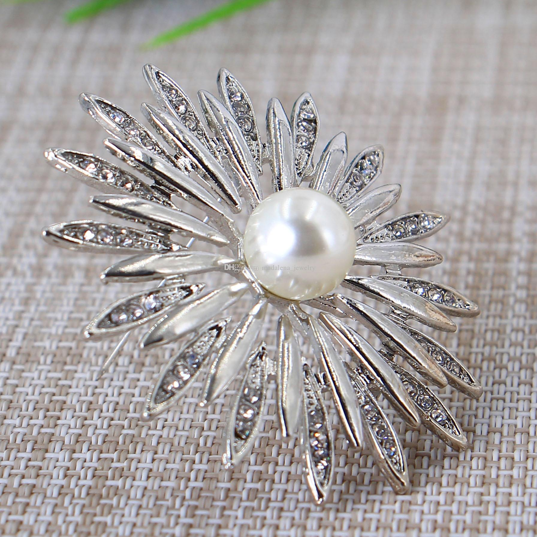 cc814c54586 WHOLESALE PEARL BROOCH PIN FLOWER STYLE MD-BH-002117 BROOCH PIN BROOCH  BROOCH Online with $13.72/Piece on Madalena_jewelry's Store | DHgate.com