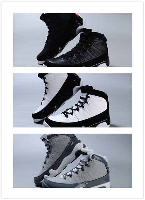 newest 688ec 1a580 Großhandel 2018 Neue Hochwertige 9 S Männer Basketball Schuhe Gezüchtet  Raum Coole Grau Beste Qualität Sneaker Shoes Größe Eur 41 47  Versandkostenfrei Von ...