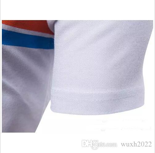 heißer Verkauf neuer Mann-Sommer-Art- und Weisebeiläufiges kurzärmliges dünnes Mann-T-Shirt Marken-beiläufige T-Shirts übersteigt T-Stücke Rundhals T-Shirt
