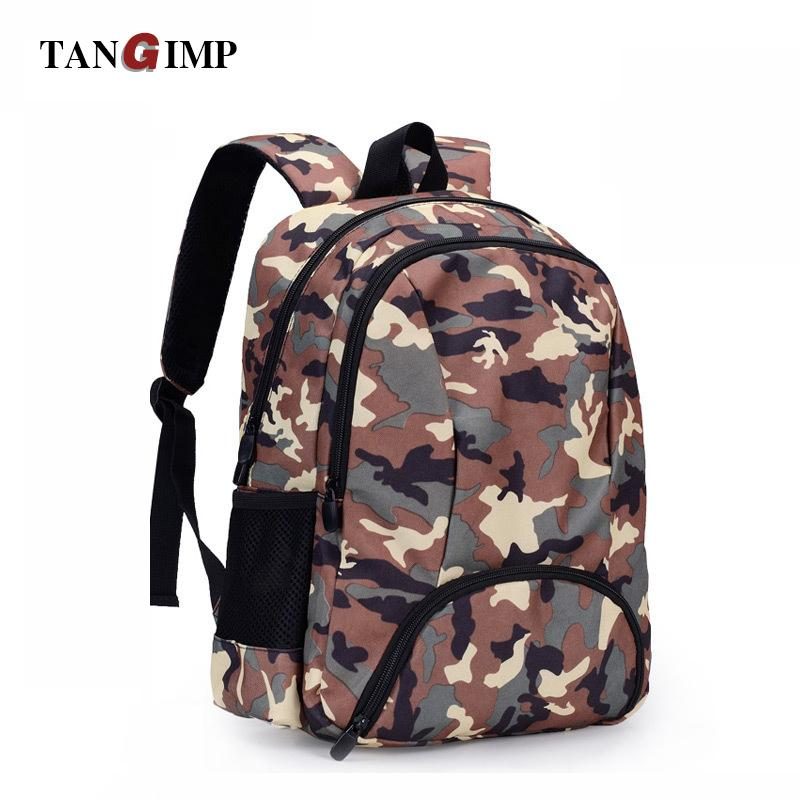 e1091b5320 TANGIMP Camouflage Backpack Men Preppy Style Camo School Backpacks For Boys  Girl Teenagers High School Middle Bags Large Large School Backpack Backpack  ...