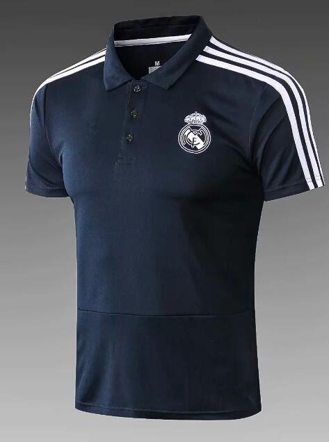 911bf46deb Compre Top Qualidade 2018 2019 Real Madrid BALE Camisas De Futebol Camisa  Polo 18 19 Maillot De Pé Juventus RONALDO Camisas De Futebol Polo Camisola  De ...