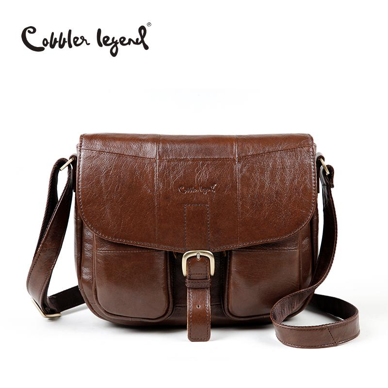 Cobbler Legend Brand Genuine Leather 2017 Women Shoulder Bag Casual Style  Crossbody Bag For Ladies Handbags For Female 0700101 1 Cheap Bags Cute  Purses From ... a0a5350feb