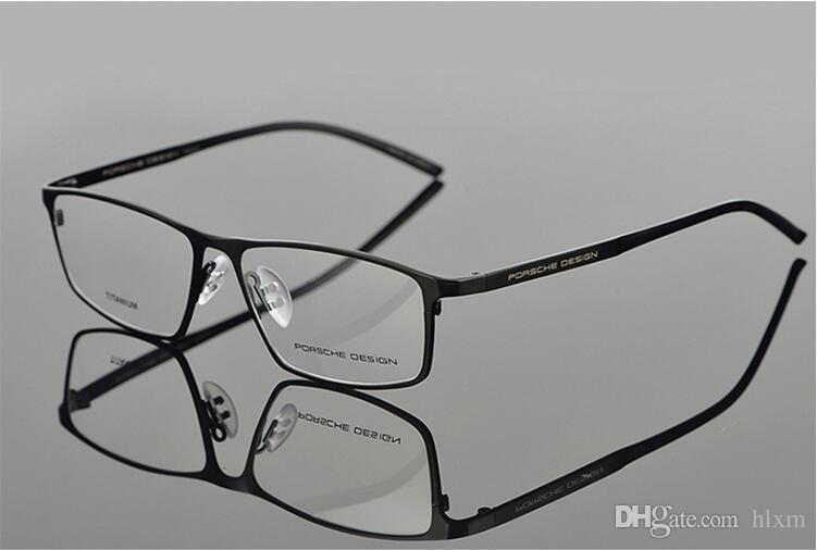 1cbc50581edf 2019 Hot Sale Metal Eyeglasses 8184 Titanium Men Women Myopia Glasses  Frames P8184 From Hlxm