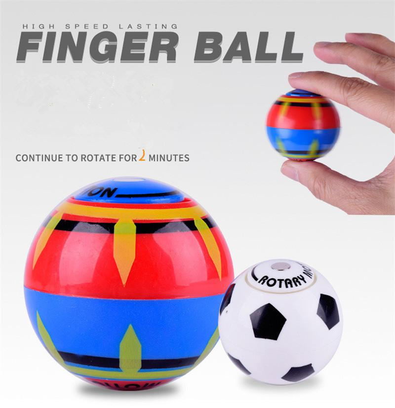 Magnetic Sphere Ball with 3 Bearings Dazzling Light Battle Game Ball with Power Ring Magic Magnetic Finger Induction Balls Finger Toys
