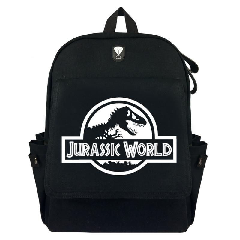528d7efec1 Jurassic World SPN Canvas Rucksack Backpack Student Schoolbag Bag Travel  Laptop Cosplay Bag Gifts Small Backpack Backpack Brands From Shoesbuddy
