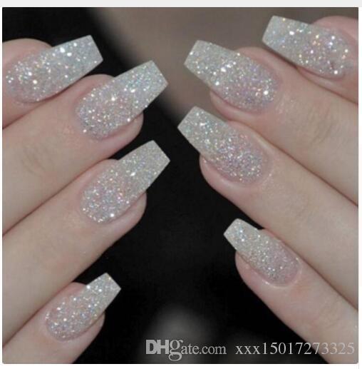 Fashion Fake Nails Press On Girls Finger Beauty False Nail Plastic