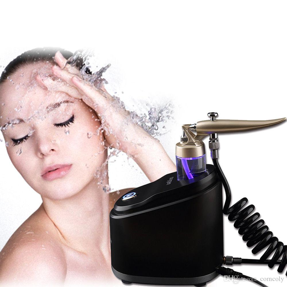 Neue reine Sauerstoffwassersprühstrahlgesichtsmassage Hautverjüngung Pflege Peelmaschine Whitening Heller Falten Entfernung Reinigung