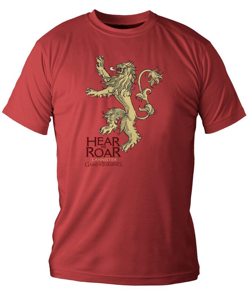 Bulk T Shirts Mens Short Sleeve Top O Neck Lannister T Shirt New