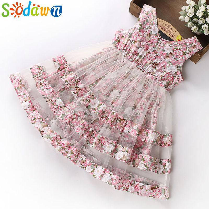 ed02c0db02eb 2019 Sodawn 2018 Summer Party Dresses For Girls Wedding Dresses ...