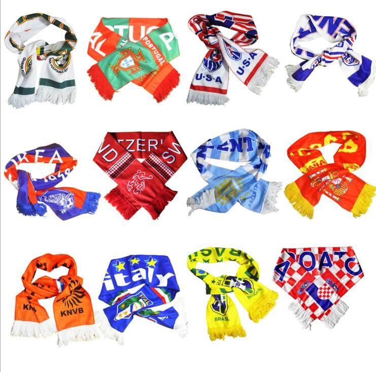 Compre Vara Fãs Bandeira Cachecol Tatuagem Adesivos De Silicone Pulseira De  Futebol Terno Cheerleading Suprimentos Para A Copa Do Mundo 2018 835acddd681ad