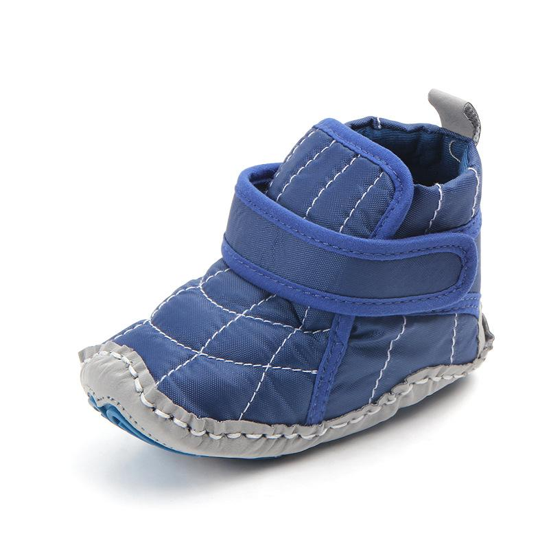 2018 Fashion Newborn Baby Boys Shoes Outdoor Soft Rubber Sole No Slip Boots  Spring Autumn Infant First Walker Hook Loop Prewalkers From Universecp 1189dd8c5c3b