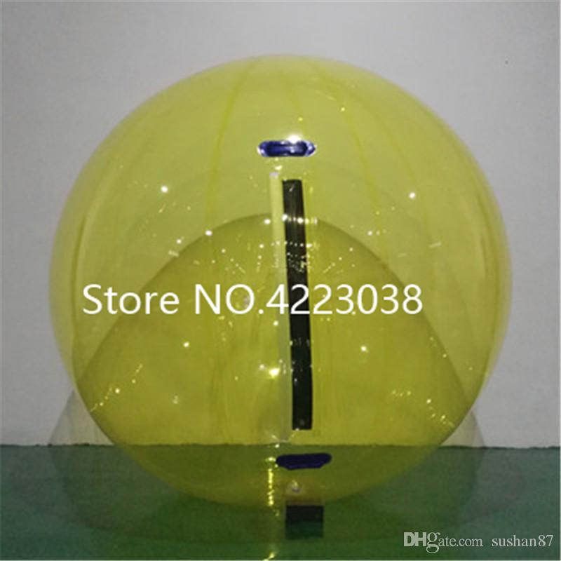 German Zipper 2m Multicolor Inflatable Water Walking Ball Air Space Balls Water Zorbing Ball Walking Water Ball