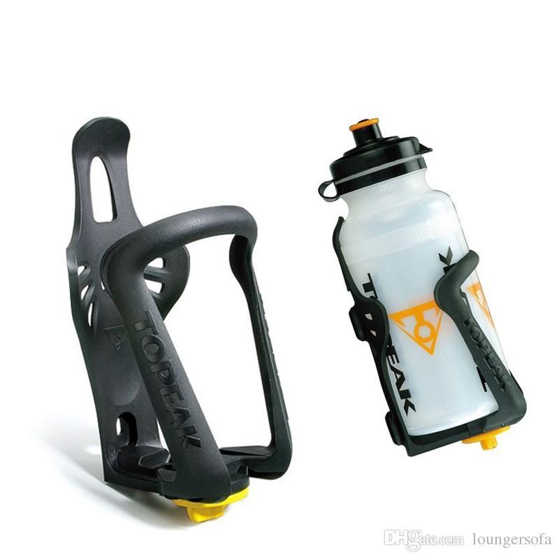 Gabbie di bottiglia di acqua della bicicletta di plastica Quattro colori Regolabile Bollitore Cremagliera Portabiciclette portatile Vendita calda 1 9at B