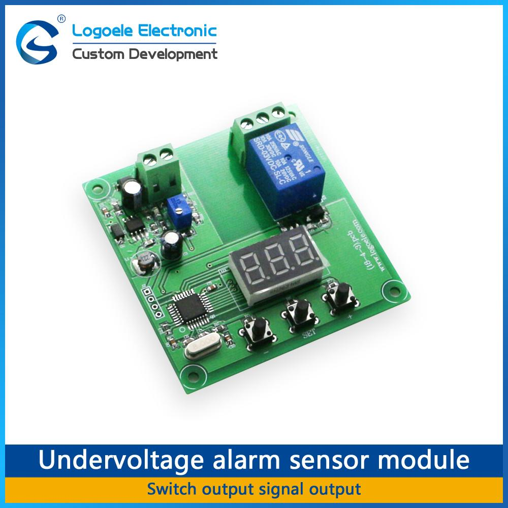 Logoele Battery Overvoltage Undervoltage Alarm Sensor Module Dc 3pcs 12v Delay Timer Relay Turn On Off Voltage Protection Control Switch Home Automation Modules Cheap