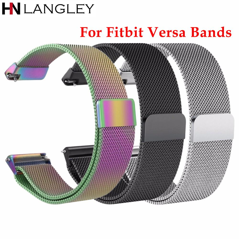 e0daed5d47b 23 MM Versa Milanese Loop Stainless Steel Bands Replacement for ...