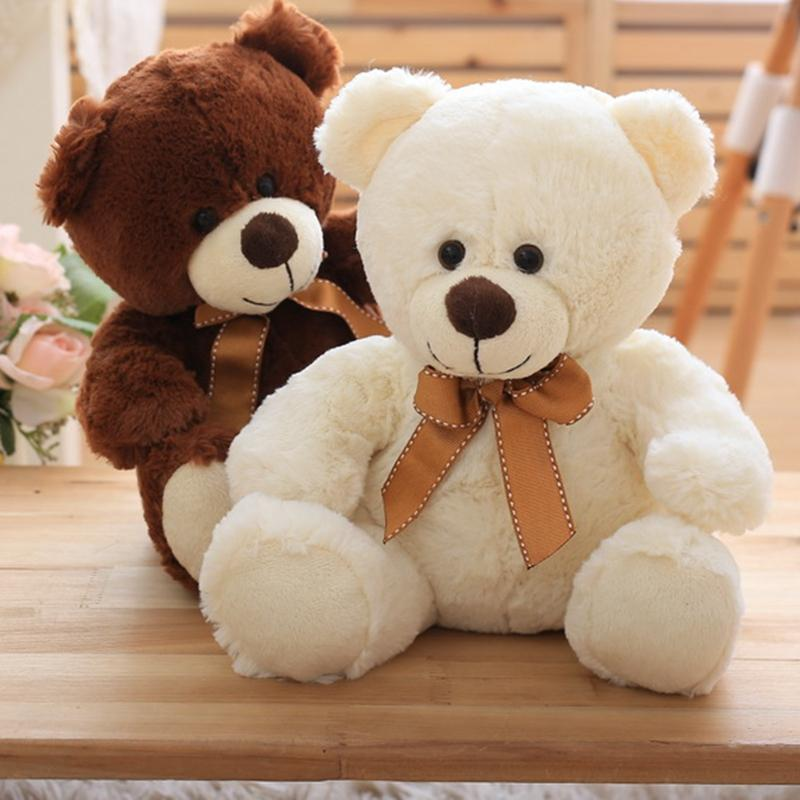 2018 bear plush toys small 25cm cute teddy bear soft doll stuffed