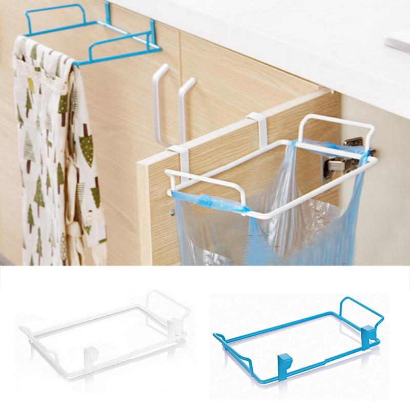 2018 Hot Selling Practical Hanging Garbage Rubbish Bag Holder Kitchen  Cupboard Garbage Bag Storage Rack From Oopp, $27.1 | Dhgate.Com