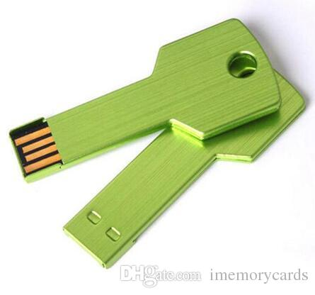 Key Style 256GB 128GB 64GB USB 2.0 flash drives Memory Sticks Pen Drives Disk pendrives retail package