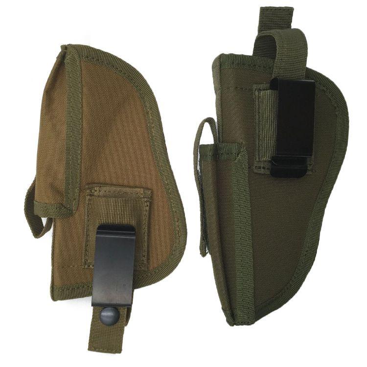 EDC Right Left Interchangeable Tactical Pistol Hand Gun Holster w Magazine Slot Holder