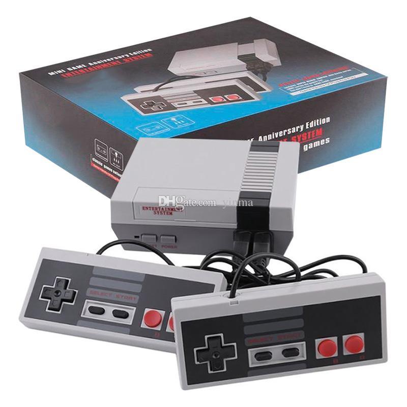 15d94fbd371 Compre Mini Clássico Retro TV Video Game Console 600 620 Jogos Sistema De  Entretenimento Em Casa Console De Videogame De Yinma