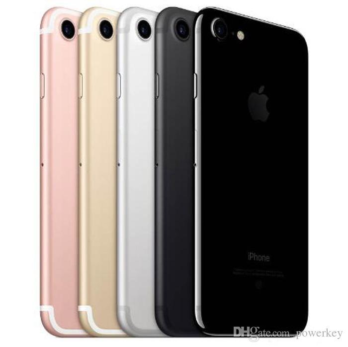 "Original Refurbished Apple iPhone 7 iphone7 Quad Core 4.7"" 2GB RAM 32GB/128GB/256GB ROM IOS 12MP fingerprint 4G LTE unlocked phone"
