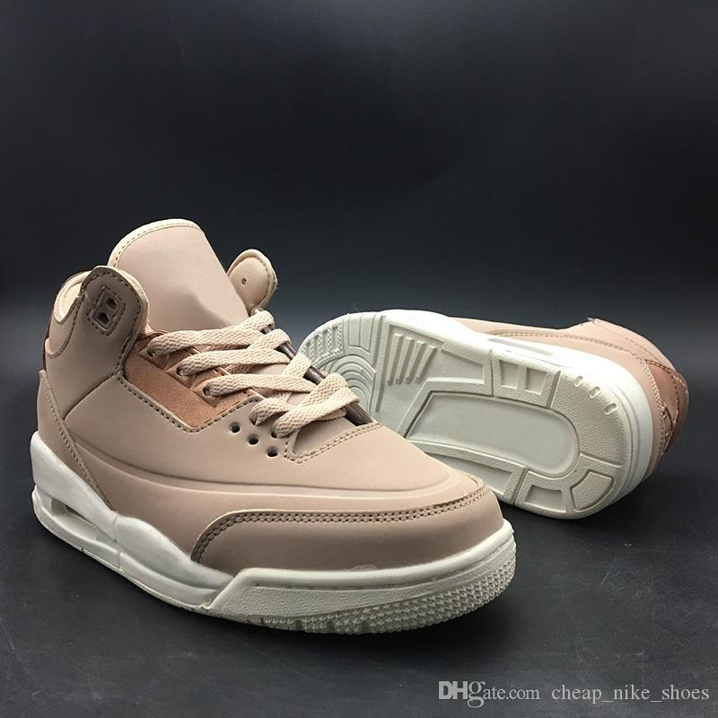 5c3d556f426 2018 High Quality 3 NRG Women s Rose Gold Particle Basketball Shoes ...