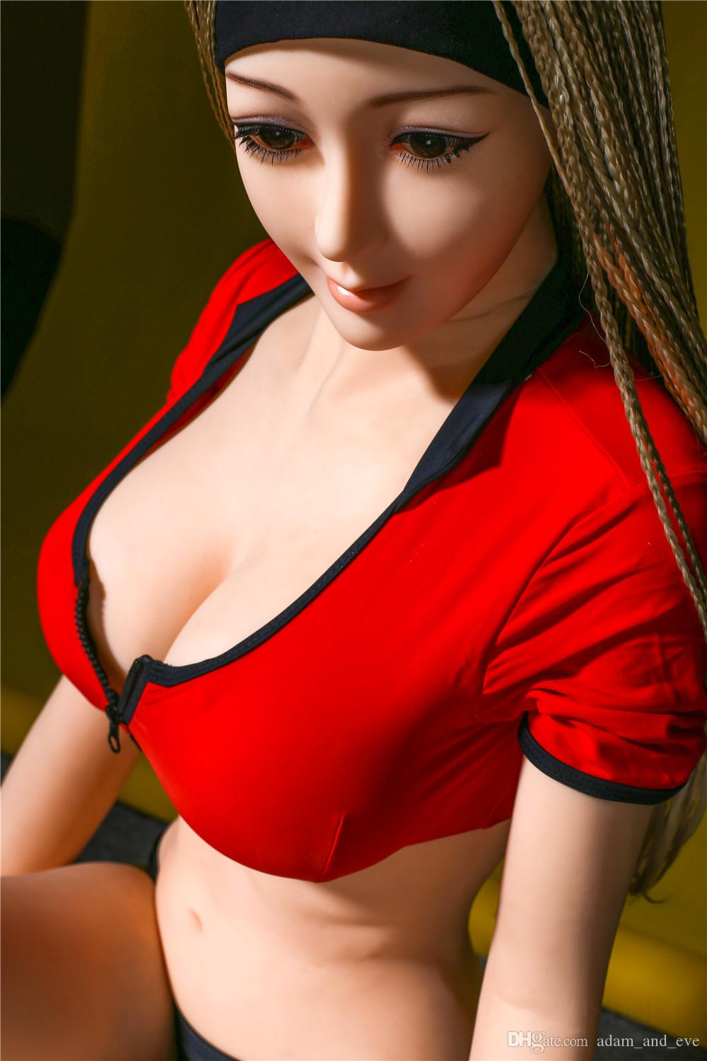 158cm Life Size Silicone Sex Doll Full Body Love Dolls Anal Vagina Oral Pocket Pussy Sex Toys for Men