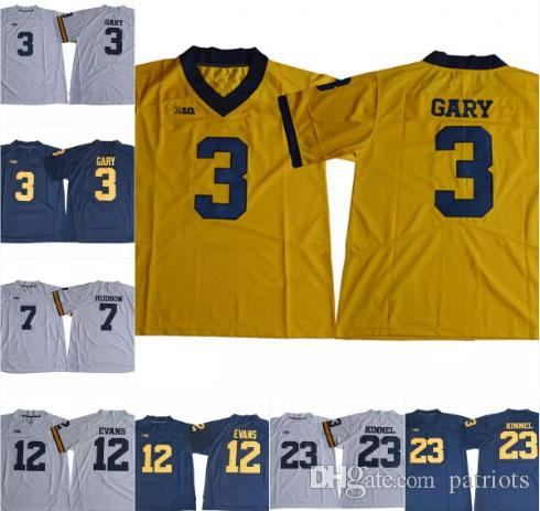 Wholesale Mens NCAA Michigan Wolverines  3 Rashan Gary College ... 51d6c9dcf