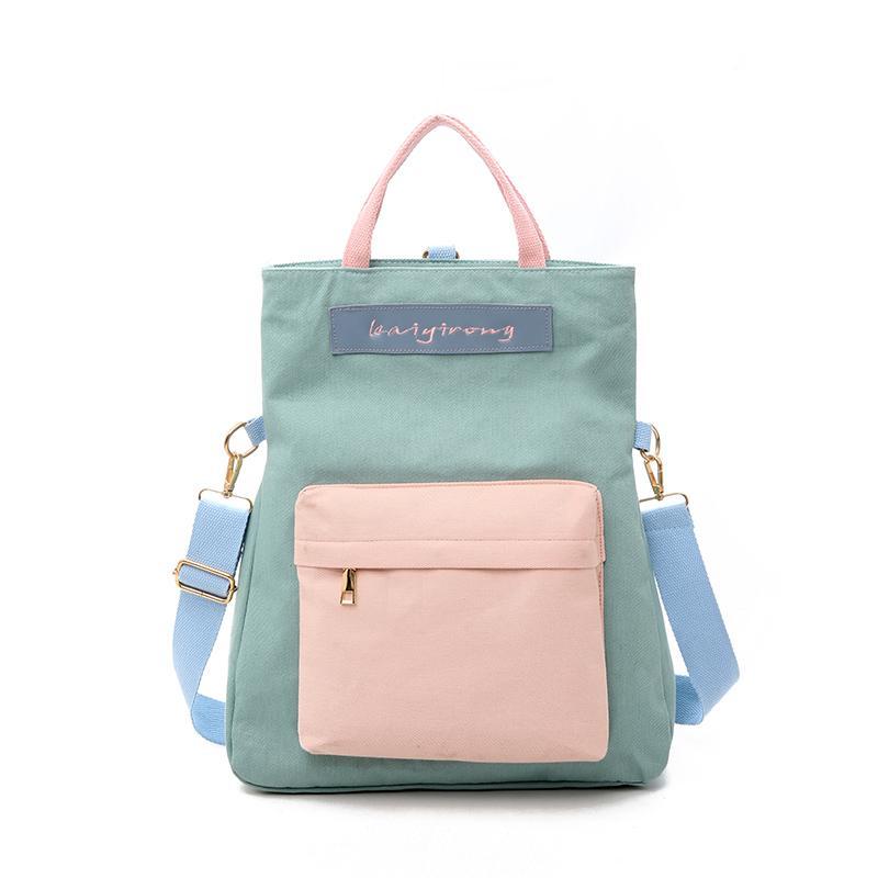3332c273f7 Casual Backpacks Women Black Waterproof Nylon School Bags For Teenage Girls  High Quality Fashion Travel Multi Use Tote Backpack Backpacks For Teens  Cheap ...