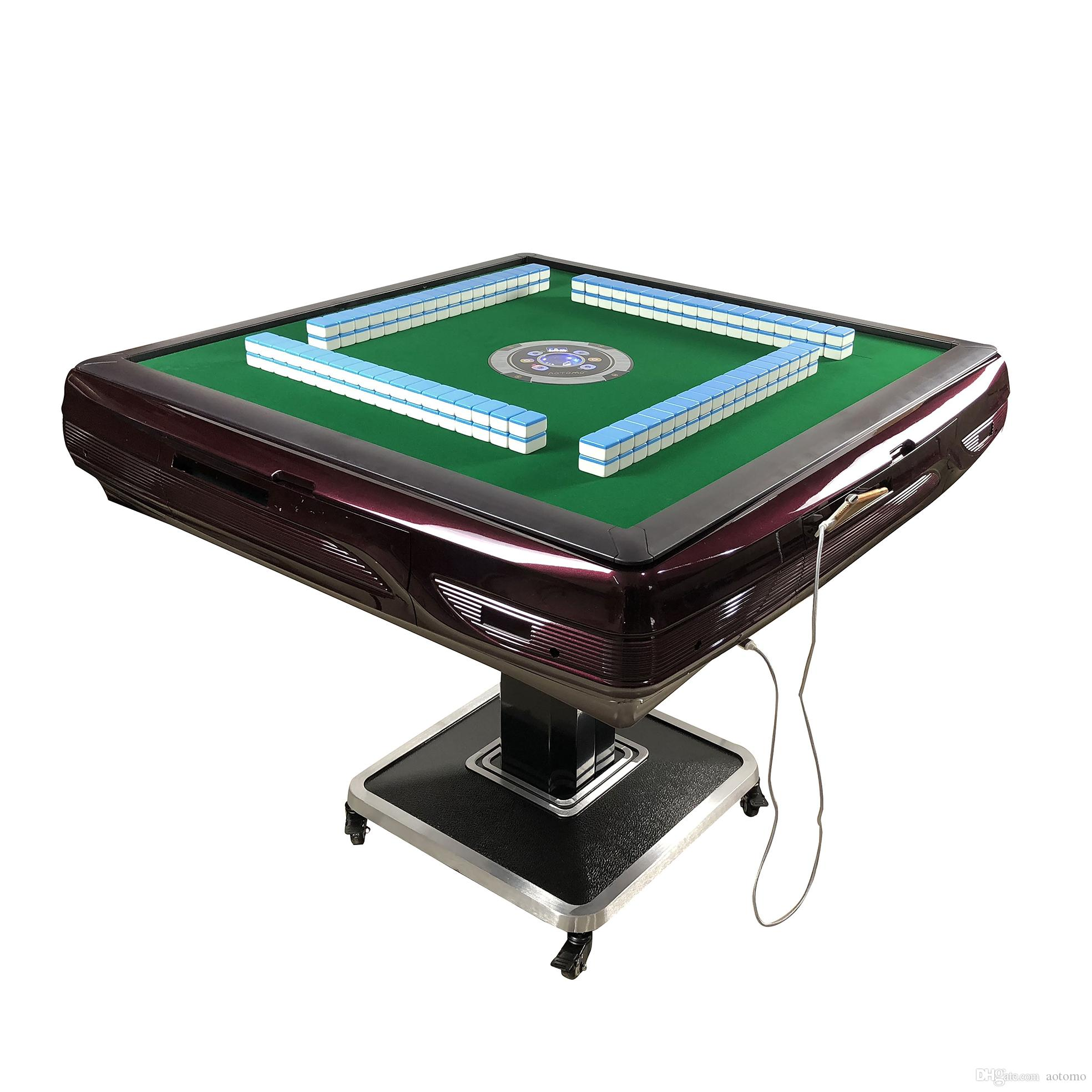 Ajedrez 시간 제한된 플라스틱 자동차 마작 테이블 마작 세트 체스 게임 Tabuleiro de Xadrez 2020 새로운 디자인 자동 마작 테이블