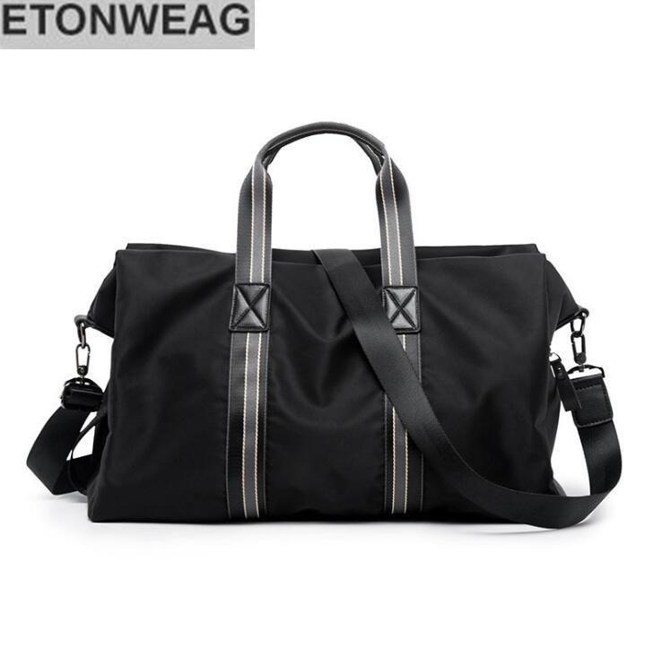 c6f1e1e9f9ba ... Bag Striped Large Capacity Fashionable Handbag Light Travelling Bag  Laptop Backpack Messenger Bags For Men From Rainbowpo2018