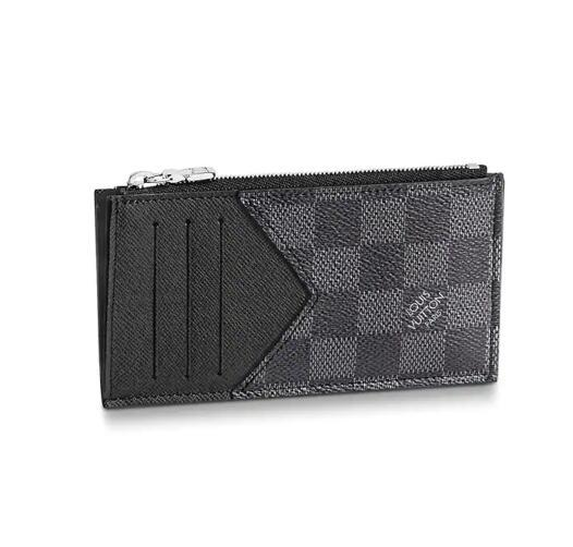 0a7ab278eb COIN CARD HOLDER N64038 Men Belt Bags EXOTIC LEATHER BAGS ICONIC BAGS  CLUTCHES Portfolio WALLETS PURSE