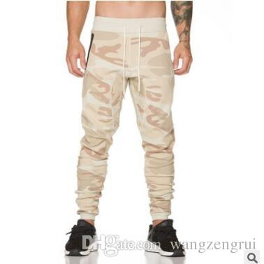 2019 New Joggers Pants Men Camouflage Military Pure 100% Cotton ... 7ac7900b427d