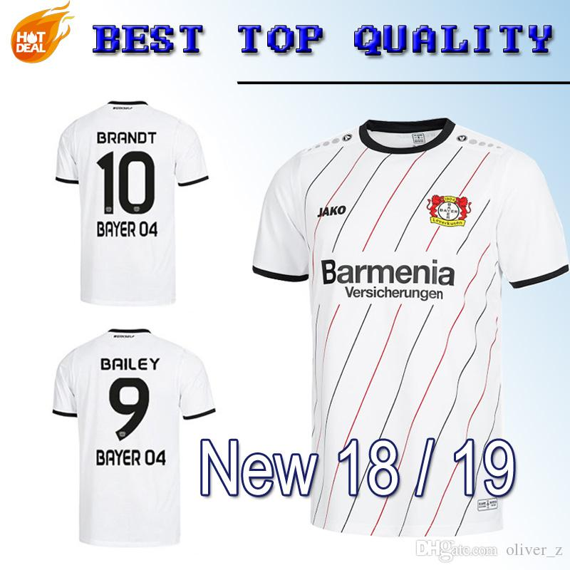 2019 18 19 Bayer 04 Leverkusen 30 Years Away Soccer Jersey 2019 New